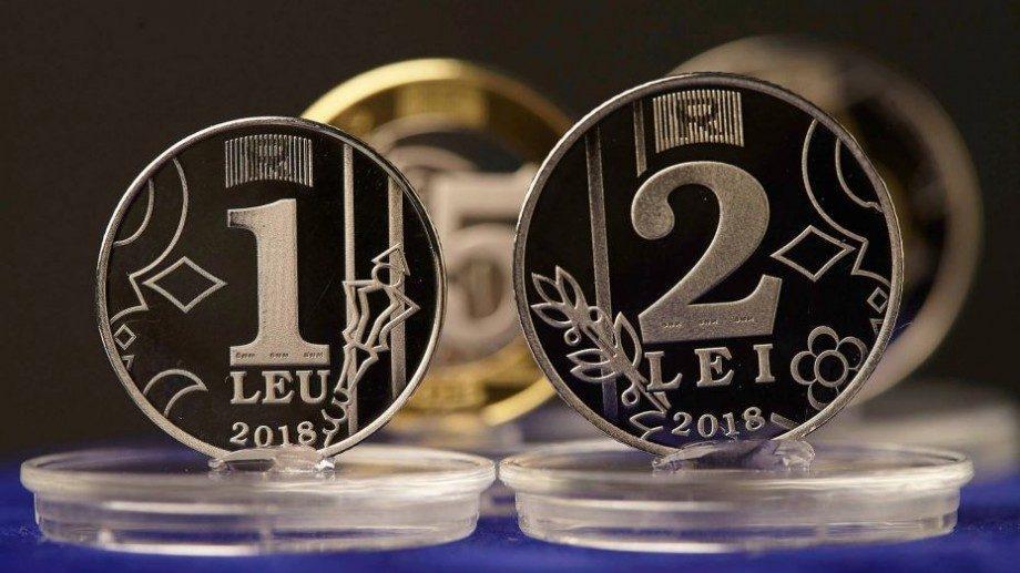 (видео, фото) Сегодня НБМ представил 4 новые монеты номиналом в 1, 2, 5 и 10 лей