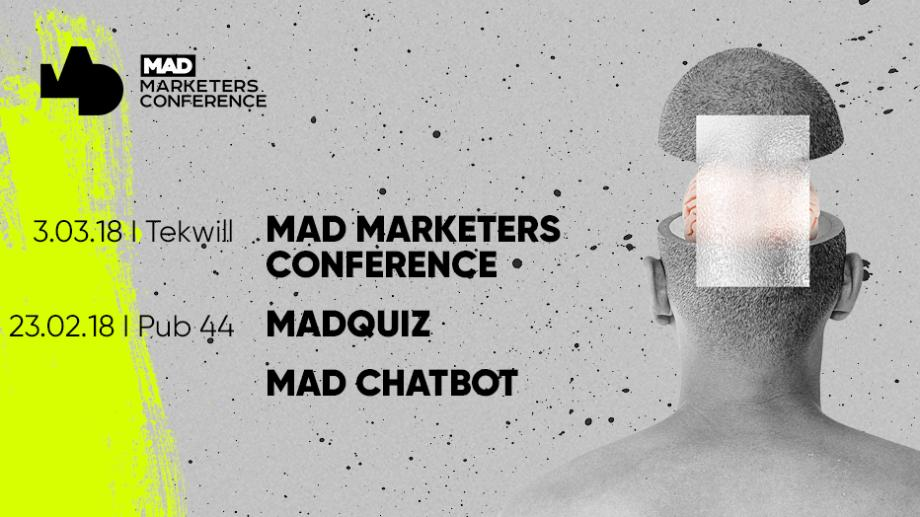 """Хочешь билет на Mad Marketers Conference? Его можно выиграть на """"MadQuiz. Войны маркетологов"""""""