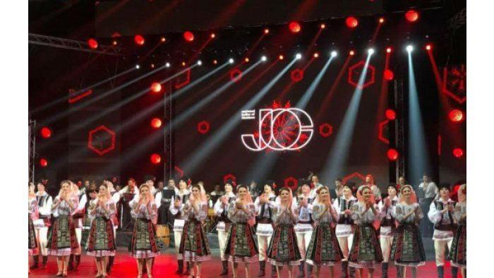 """Международный музыкальный фестиваль """"Мэрцишор"""" завершился выступлением ансамбля """"Жок"""""""