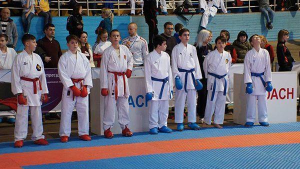 Молдова завоевала две медали на турнире по каратэ в Украине