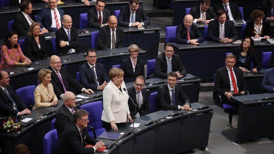 Ангела Меркель избрана канцлером Германии на четвертый срок