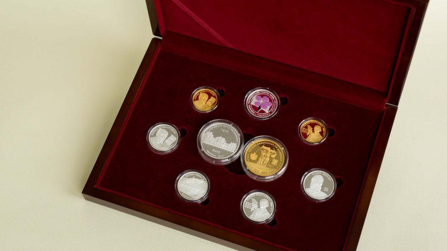 (фото) Национальный Банк Молдовы вводит в обращение новые памятные и юбилейные монеты. Вот, как они выглядят