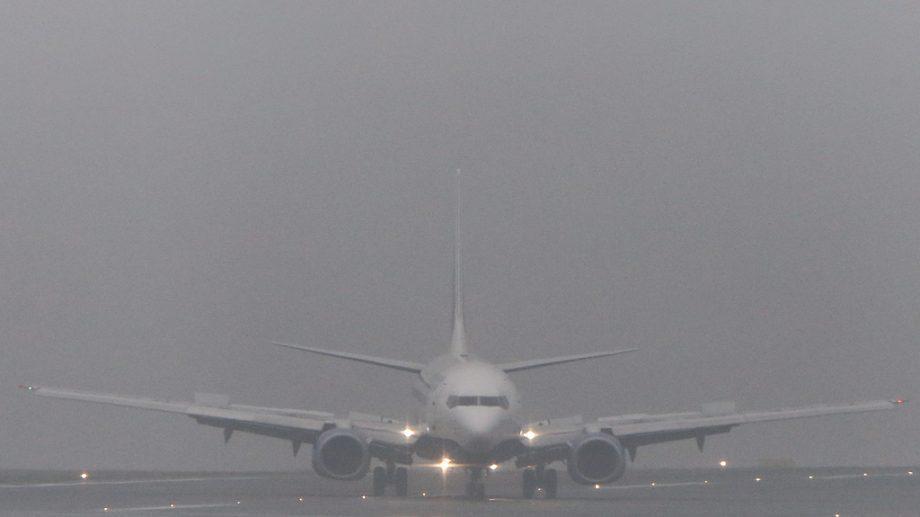 Задержки и отмены авиарейсов в Кишиневском аэропорту из-за густого тумана