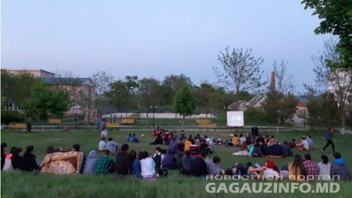 В Гагаузии стартовал  сезон показа фильмов под открытым небом