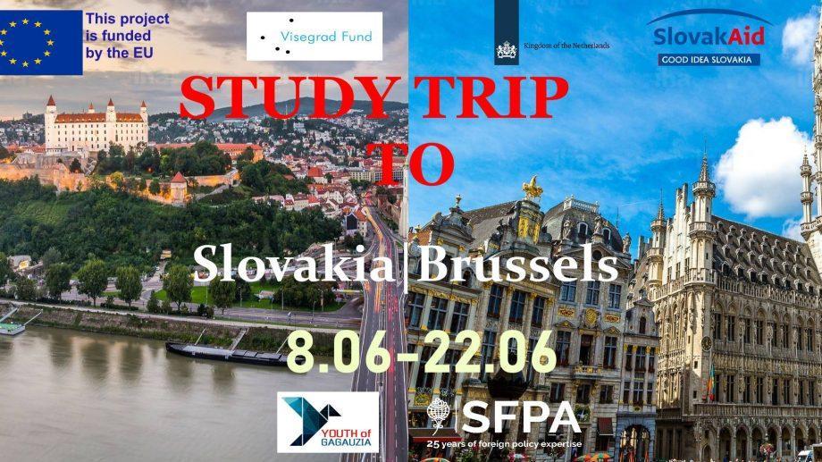 Проект GaMCon объявляет набор желающих на обучающую поездку в Словакию и Брюссель