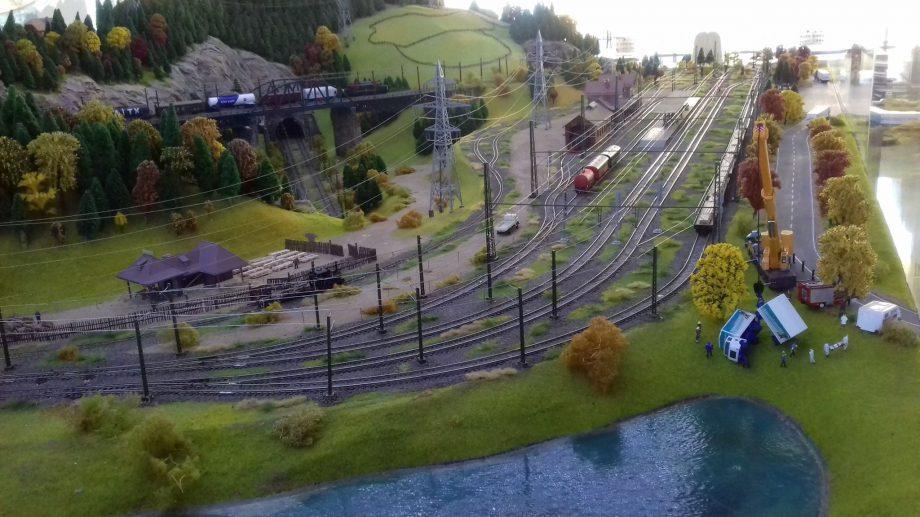 (репортаж, фото) В Кишиневе открылась первая выставка железнодорожных путей «The old express»