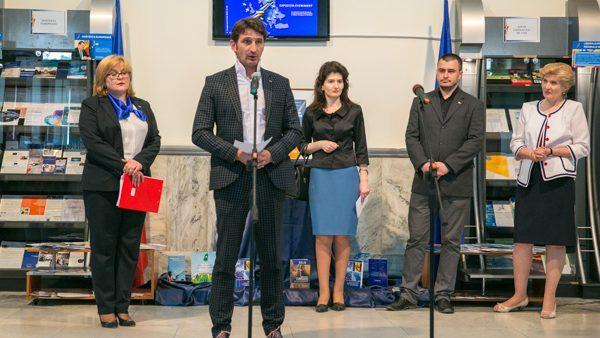 Европейский путь Молдовы можно увидеть на выставке в Национальной библиотеке