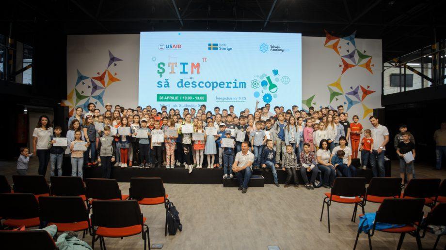 (фото) ȘTIM să descoperim: Более 150 учеников приняли участие в тематических мастер-классах, проводимых в рамках «STEM Discovery Week»