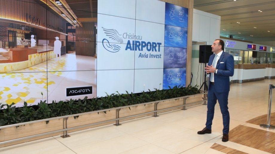 Avia Invest продолжает глобальную реконструкцию терминала Кишинёвского международного аэропорта