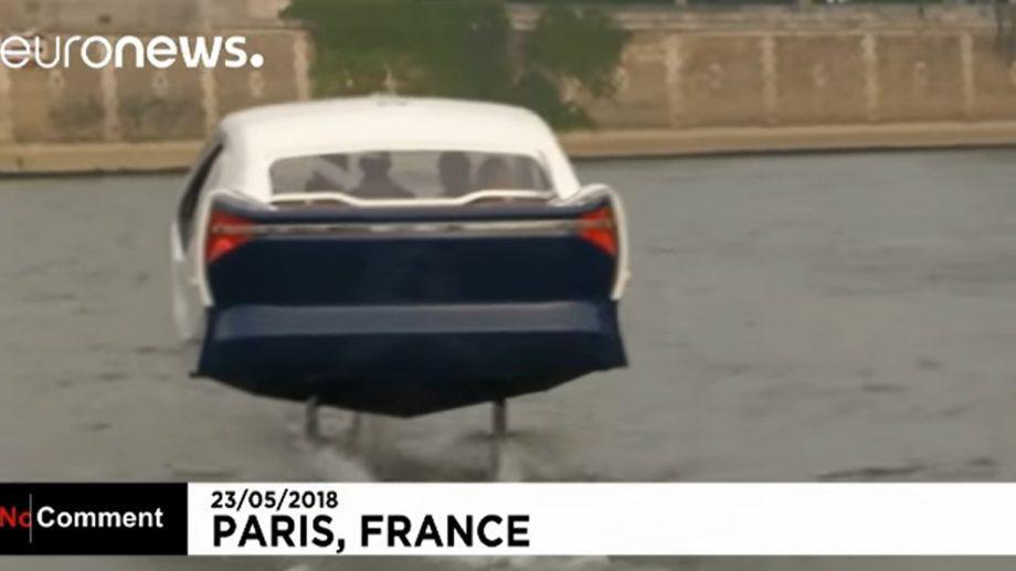 (видео) Во Франции появилось летающее такси