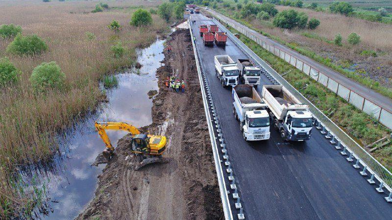 (фото) 1 июня будет сдан в эксплуатацию мост между Молдовой и Украиной возле села Паланка
