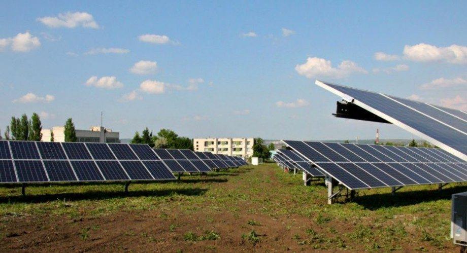 (фото) Открылся самый большой парк солнечных батарей в Молдове. Вот где он находится
