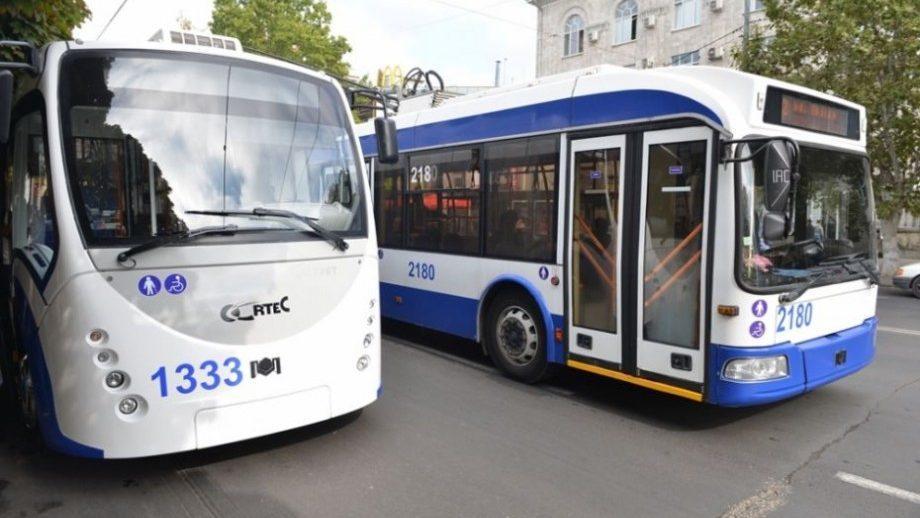 В Кишинёве 20.000 человек пользуются общественным транспортом бесплатно