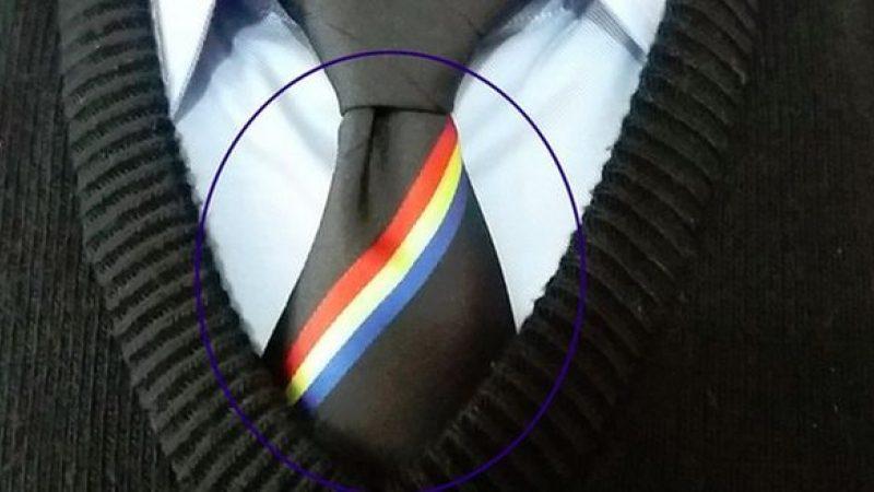 """(фото) """"Небо, солнце и кагор – наш молдавский триколор!"""" – мнемоническая фраза для запоминания последовательности цветов флага Республики Молдова"""