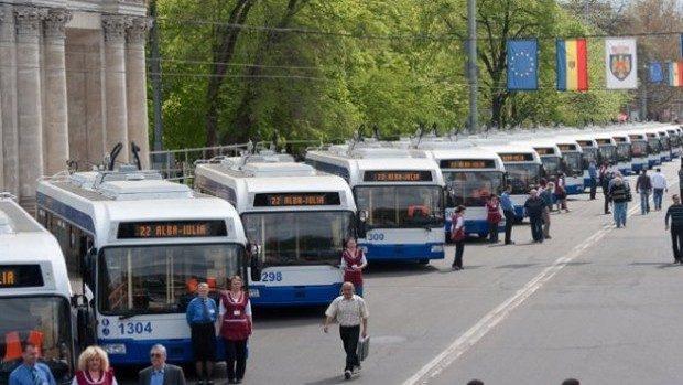 В эти выходные, в центре Кишинева, будут изменены маршруты общественного транспорта. Троллейбус номер 9 будет снят с линии