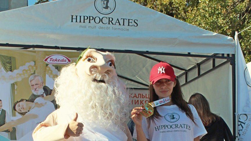 (фото) Здоровый ум в здоровом теле. Hippocrates – официальный партнёр Кишинёвского международного марафона 2018