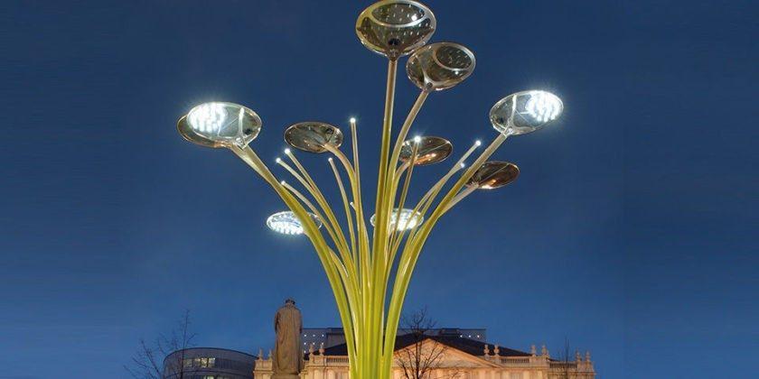 В Кишинёве появятся солнечные деревья генерирующие энергию. Как это будет работать