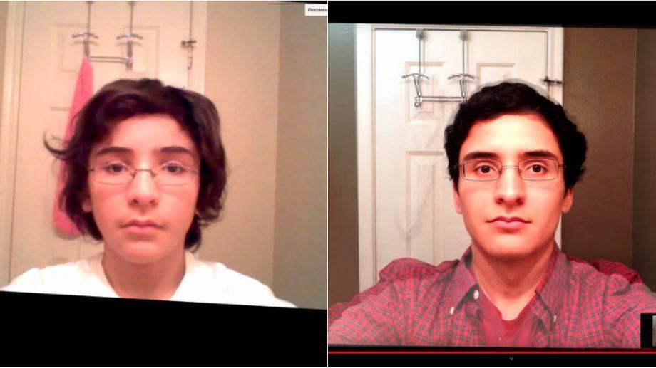 (видео) 1822 селфи за 8 лет. Как изменилось внешность 14-ти летнего подростка за это время
