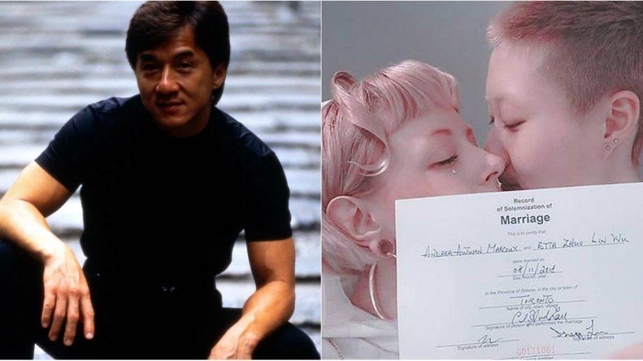 """(фото) """"Любовь — это сила!"""".19-ти летняя дочь Джеки Чана заключила брак с моделью из Канады"""