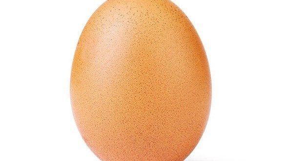 Фото куриного яйца стало самым популярным по лайкам в инстаграме