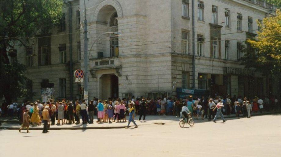(фото) Наша столица после провозглашение независимости. Как выглядел город Кишинэу в 1993 году