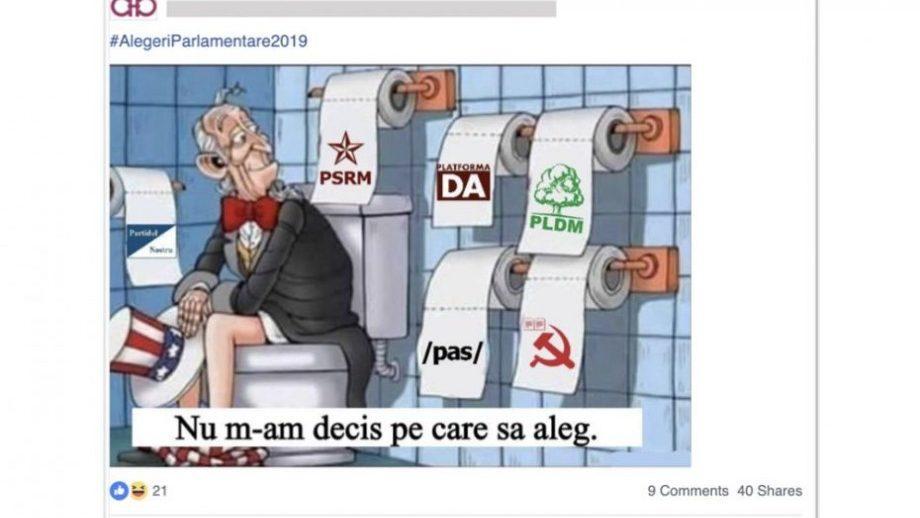 Facebook заблокировал 200 страницы связанные с фейковыми новостями в Молдове. Компания подозревает правительства в этих делах