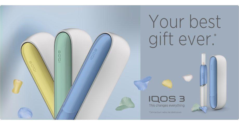 5 причин, почему IQOS 3– это лучший подарок для неё