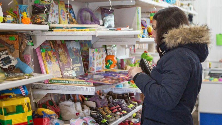 С помощью ЕС на левом берегу Днестра открылся первый социальный магазин