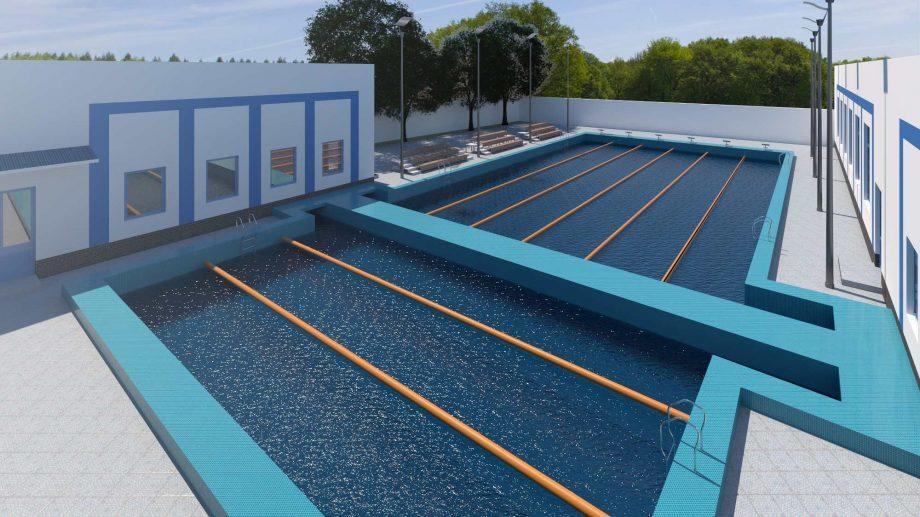 Первый за 40 лет ремонт бассейна «Динамо» будет стоить свыше 700.000 долларов