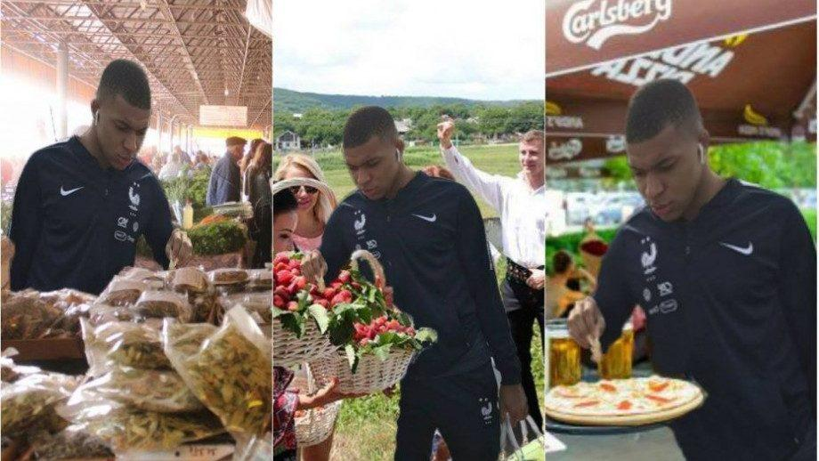 """(фото) На центральном рынке, в винных подвалах Крикова и в Andy's Pizza. Где успел """"побывать"""" Килиан Мбаппе, в Молдове"""