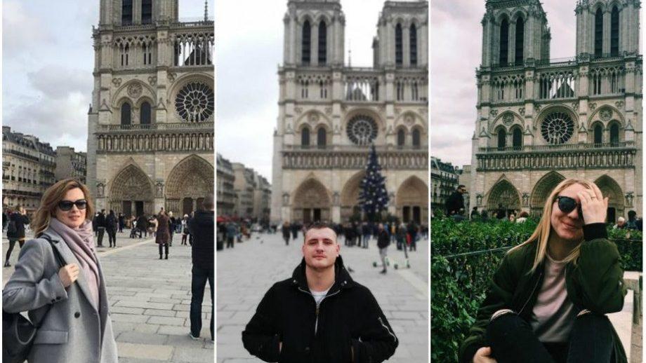 """(фото, видео) """"Останется в нашей памяти"""". Молдаване стали свидетелями вчерашнего пожара в Париже"""