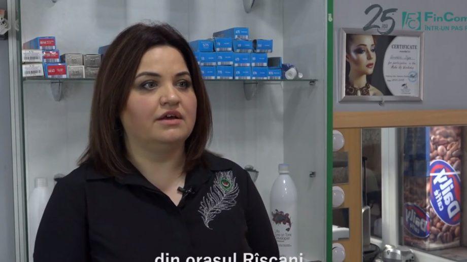 (видео) #FinComBusiness: история успеха салона красоты в городе Рышкань