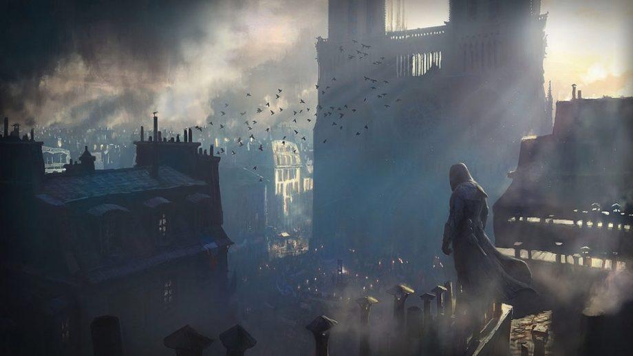 (видео) Разработки Нотр-Дам для игры Assassin's Creed Unity могут пригодиться при реконструкции сгоревшего собора