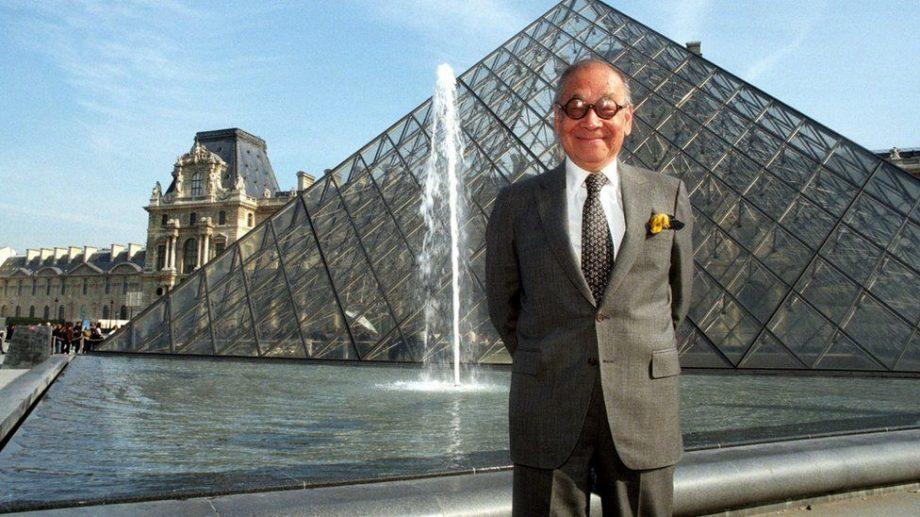 (фото) В 102 года умер один из самых популярных архитекторов в мире, Бэй Юйминь. Он автор пирамиды Лувра и еще много остального