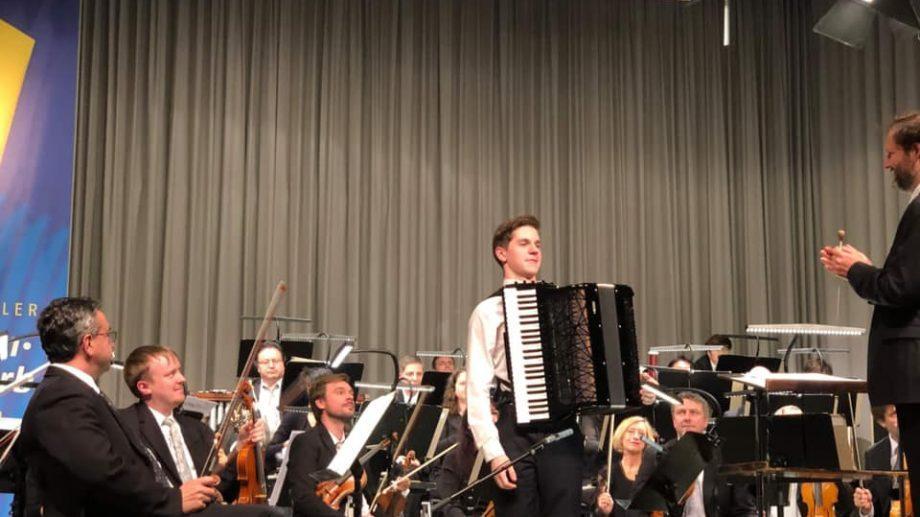 Молдавский инструменалист, Раду Рацой, выиграл главный приз  Чемпиона мира по игре на аккордеоне в Германии