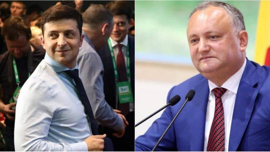 В Украине, Зеленского раскритиковали за беседу с Игорем Додоном. Это связано с Крымом