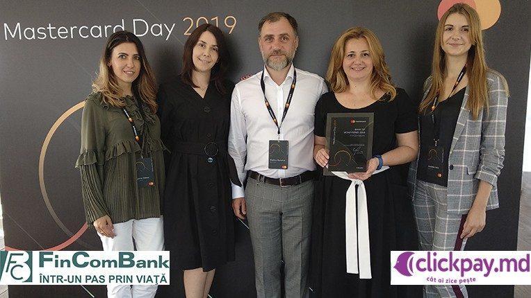 FinComBank удостоен от Mastercard награды «Банк Moneysend 2018»за продвижение инновационных переводов с карты на карту