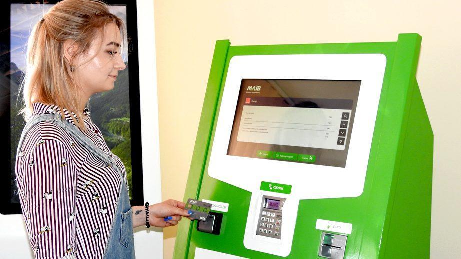 Терминалы самообслуживания MAIB на таможенных постах страны