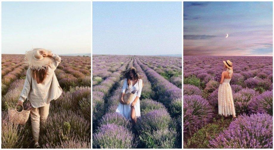 (фото) Фиолетовый бум в интернете. Пользователи Инстаграма публикуют новые фотографии с лавандовых полей