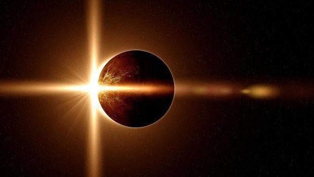 Солнечное затмение: трансляция удивительного астрономического явления