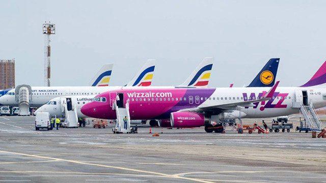 Компания Wizz Air  запустила четыре новых рейса из Кишинева