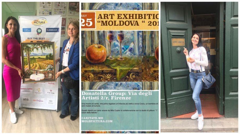 Помощь через искусство: художница Мила Куптор, продавая свои картины, собирает деньги на операции детям