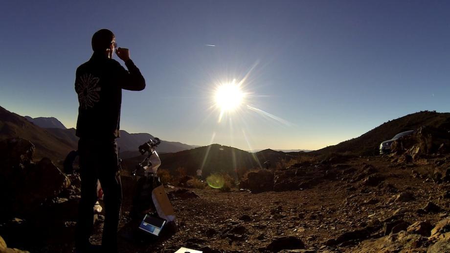 Любитель астрономии из Кишинева заснял полное солнечное затмение в Чили
