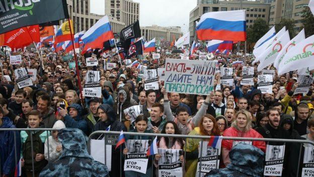 Мэрия Москвы не согласовала шествие за свободные выборы, которое планировали провести 17 августа
