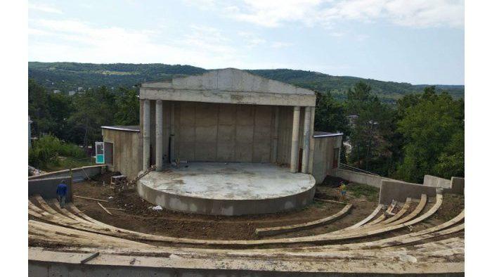 В городе Кэлэрашь построят сцену амфитеатра
