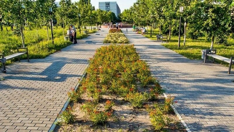 """""""Сад Вечности"""" в парке Дендрарий обустроен на 80%. Что стало главным объектом новой зоны отдыха"""