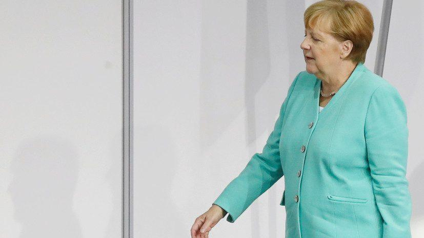Канцлер ФРГ Ангела Меркель сказала, когда уйдет из политики