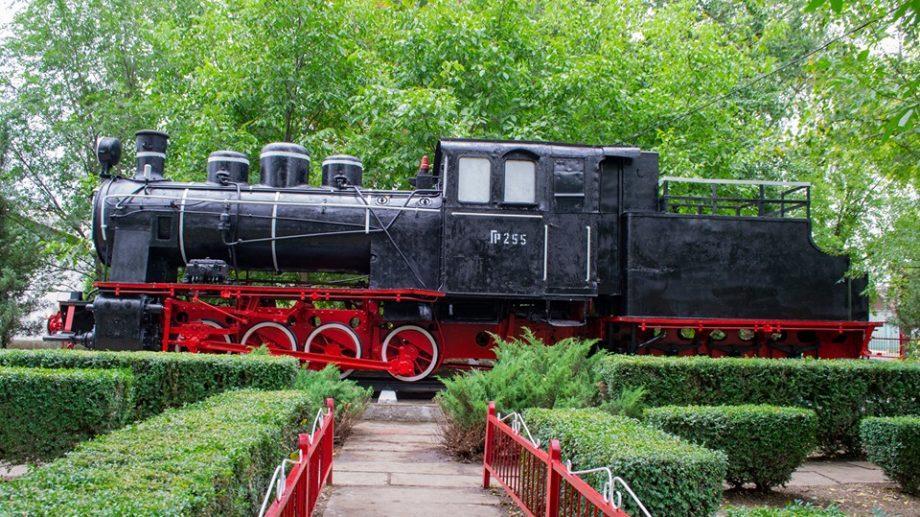 Сегодня открыли отреставрированный памятник-паровоз ГР-255