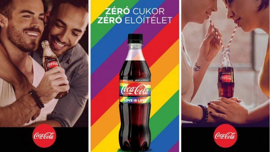 «Ноль сахара, ноль предубеждений». Жителей Венгрии призвали бойкотировать Coca-Cola из-за пропаганды гомосексуализма