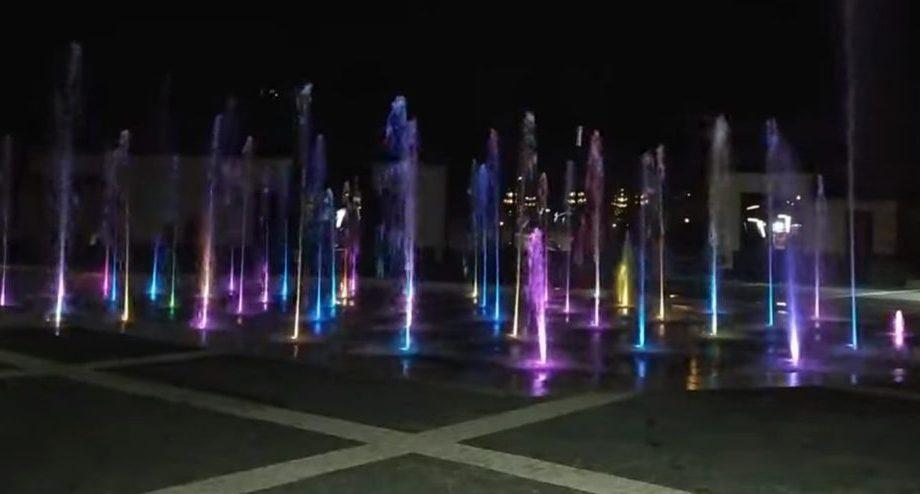 (видео) Первые кадры с поющим фонтаном в парке «Долина Роз»